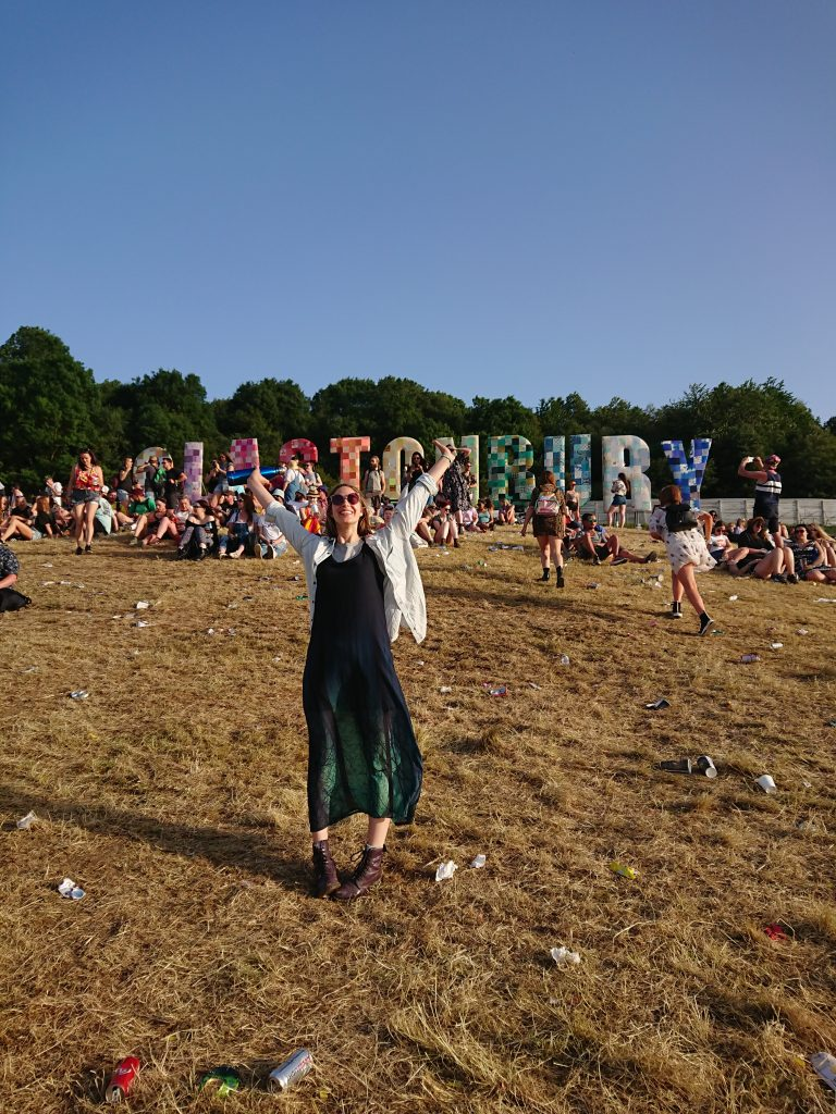 I went to Glastonbury and it was amazing